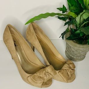 Tan dressy heels